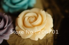 BOWISE Free shipping 30mm 12 Colors Flatback Resin Rose Flower for DIY Handmade Jewelry Accessory Wholesale