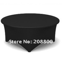 Free shipping cocktail table cover /lycra table cloth/spandex table cloth