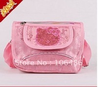 Wholesale Free shipping 20pcs/lot pink Hello kitty bags /Hello Kitty Recreation bag