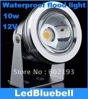 Free Shipping 12V 10W LED Waterproof Floodlight Lamp, LED Underwater Light White 850lm [ LedBluebell ]