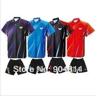 New 2010 Butterfly Men Table Tennis   Shirt/Shorts