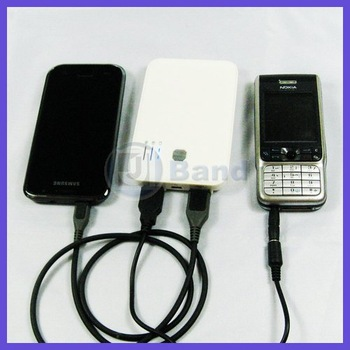 5000Mah Universal Portable battery For iPad iPhone HTC Samsung Galaxy S3 i9300 DHL Free Shipping
