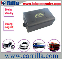 Free Shipping 60-day-standby battery + Strong magnet car tracker gps(RAG104)