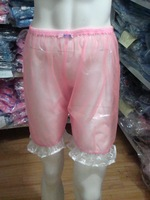 Guaranted 100%  ADULT BABY incontinence PLASTIC PANTS Transparent P011-5t+Full Size