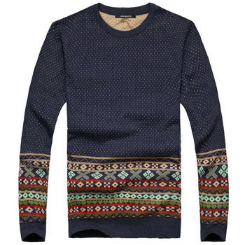 Free shipping 2014 New Arrival Hot Sale Men Fashion Korean Style O-neck Sweater 4 Colors Drop Shipping Asia S M L XL XXL