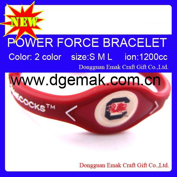 College Team Power Bracelet SOUTH CAROLINA-GAMECOCKS(China (Mainland))