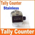Free shipping Big discount  Digits Stainless Desk & Hand Held Tally Counter, 20pcs/lot