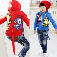 Children's clothing wholesale/Baby guard coat lovely dinosaur design clothing coat