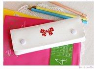 free shipping,wholesale,caroline mini cute pen case,pencil bag,pencil holder,