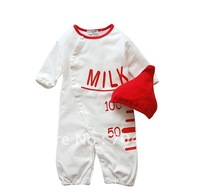 8pcs/lot-Milk Kids sleeping bag/Baby sleeping sack/Kid sleepy bag/Baby modeling rompers/toddler's one-piece
