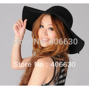 Winter Wool felt hat, Women & Ladies Bucket hat, 10pcs/lot, Free shipping via EMS