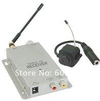 Freeshipping wholesale cctv mini wireless camera Pinhole 1.2G
