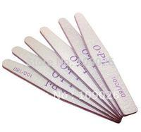 25PCS 100/180 Pro 2 Way diamond Sanding Nail File Buffing Sandpaper Slim Nail Art Manicure - Free Shipping