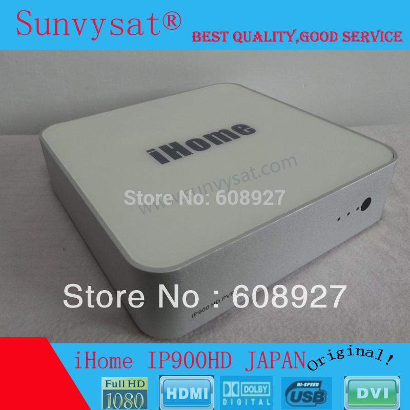 Original Japanese HD IPTV iHome IP900 HD PVR(1080P) Japan tv ipbox [net media player] IPDVD Japan LIVE TV Free shipping(China (Mainland))