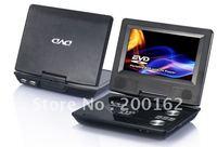 7.5 inch 180 Degree rotating TFT LCD Screen DVB-T Digital TV Portable DVD  DHL.EMS.FedEx