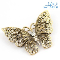 Free Shipping 6pcs/lot Fashioon Nice Butterfly Brooches Pin P168-389