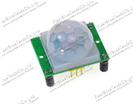 Wholesale 20pcs/lot HC-SR501 Adjust IR Pyroelectric Infrared PIR Motion Sensor Detector Module