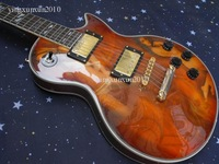 2012 new orange guitar  Free ship Solid body Great sound In stock