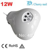 Free Shipping Via Fedex DHL TNT LED Nail UV Lamp LK-F12W CE ROHS SAA