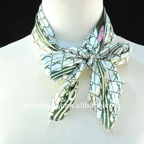Free Shipping Bohemian Style Square Jewelry Necklace Scarf NL-1511(China (Mainland))