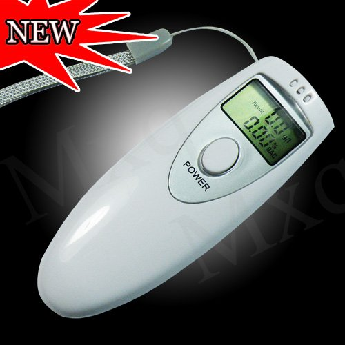 Professional Police Digital Breath Alcohol Tester breathalyzer Key Chain Portable LCD Breath Alcohol Analyzer Meter Detector(China (Mainland))