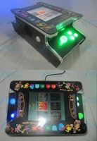 10.4 inch LCD Mini Table Cocktail Machine With Classical games 60 In 1 PCB/With Illuminated joystick and Illuminated button