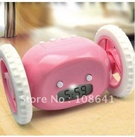 Best gift Free Shipping!!! Run Away Clocky Runaway Alarm Clock top sale