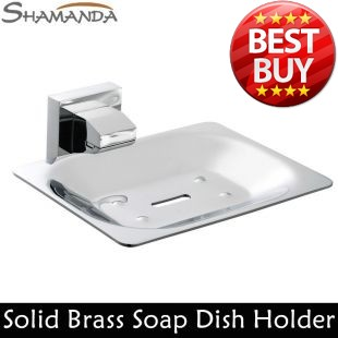 Free Shipping Soap Dish Holder,Solid Brass Construction,Chrome Finished,Bathroom Products,Bathroom Accessories-Wholesale-94006(China (Mainland))