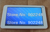 "Free shipping Cheap 7"" A23 2G Android Phone Tablet PC Capacitive Screen with Bluetooth Dual Camera WIFI 512MB RAM 8G HDD"