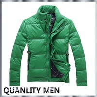 FASHION STYLE DOWN COAT, HOT SELLING MAN'S DOWN COAT, M,L,XL,XXL DUCK DOWN COAT IN STOCK, LOW PRICE, FREE SHIPPING