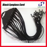 Black nylon eyeglasses cord spectacle sunglasses eyewear chain reading glasses holder