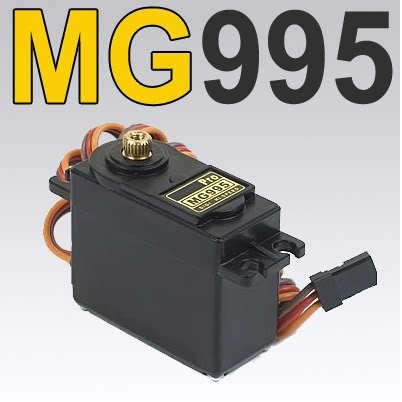 mg995 55g tower pro servo TowerPro Digital Metal Gear rc car robot Servo 48g MG945 MG996R(China (Mainland))