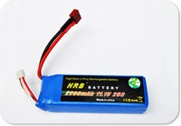 HRB  3S1P 3S 450 rc helicopter Lipo Battery 11.1V 2200MAh 25C +free shipping