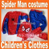 Wholesale Performing spider Costume Children's Halloween costume/Children's clothes/Spider-Man costume/Halloween props