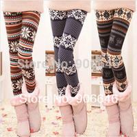 New Fashion Knitting K200 2014 autumn women's leggings colorful snow faux wool thin pencil pants wholesale retail FREE SHIPPING