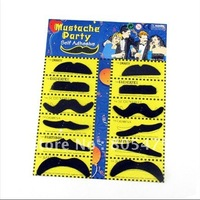 50 x  12 Stylish Costume Party Fake Beard Mustache Party Fun 3003