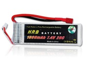 HRB,Brand  rc helicopter Lipo Battery 7.4V 1800MAh 20C +free shipping