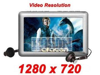 "4.3"" 8GB RM RMVB AV IN OUT 2MP Camera TV-IN TV-OUT MP4 MP5 Player JXD990 Portable HD Video KS2255"