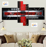 Free Shipping Worldwide,  Huge Modern Abstract Oil Painting On Canvas  100% Handmade Oil Painting Wall Art JYJZ049