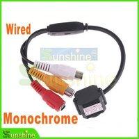Wholesale Lowlest Price Micro Monochrome Color Wired CMOS Super Mini CCTV Camera Free Shipping