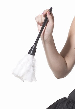 Sexy Maid Costume Feather Duster Sexy Costume Accessories LC7021 + Cheaper price + Free Shipping + Fast Delivery
