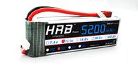 HRB,Brand  rc Lipo Battery 11.1V 5200MAh 30C +free shipping