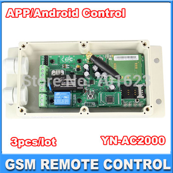 3pcs GSM Gate/Garage Opener GSM Key to Automatic door opener (Model: GSM-KEY-AC2000)