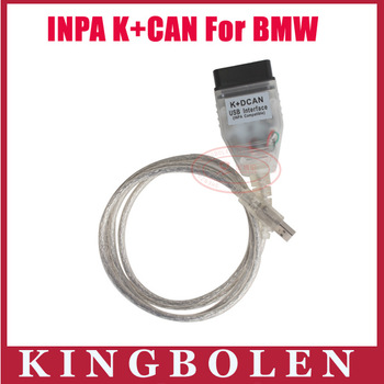 2015 Hot Quality Diagnostic Cable For BMW INPA K+CAN K+ DCAN USB Diagnostic Interface Coder Scanner Free Shipping