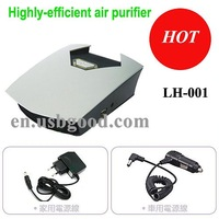 ion air purifier with HEPA+ESP+Activated carbon