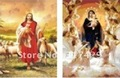 Good Quality 25*35cm HD PET Lenticular 3D Picture,3D lenticular home decoration pictures,Without frame,2picture change- Jesus