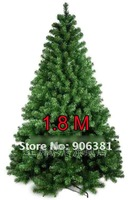 Christmas tree. 1.8 meters green encryption type pine tree.A-025. The family style.free shipping
