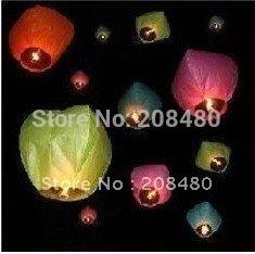 PROMOTION Fire chinese lantern halloweenchristmas sky lantern wishing lantern,candle lantern kongming,15pcs/LOT FREE SHIPPING