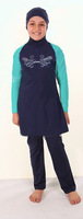 Wholesale Kid styles muslim suit muslim swimming suits for kids Fashion styles