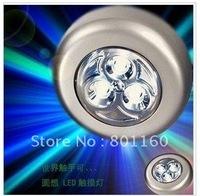 50pcs X freeshipping WIRELESS LED push light FlashLIGHT UNDER CABINET Closet Model067